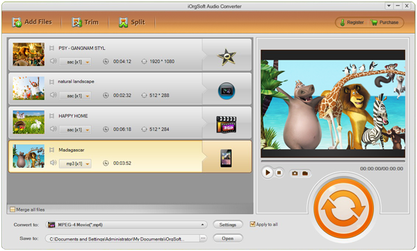 MP4 To MP3 Converter-Allow You To Extract MP3 Audio From MP4 Video